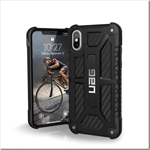 UAG Monarch и Spigen Tough Armor