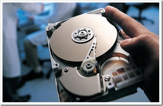 Типичная схема восстановления данных