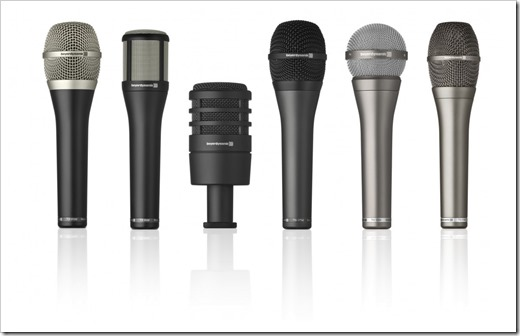 Преимущества конденсаторных микрофонов