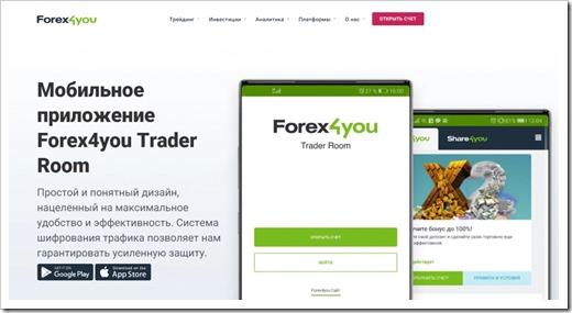 Forex4you Trader Room: чтобы войти в мир мобильного трейдинга